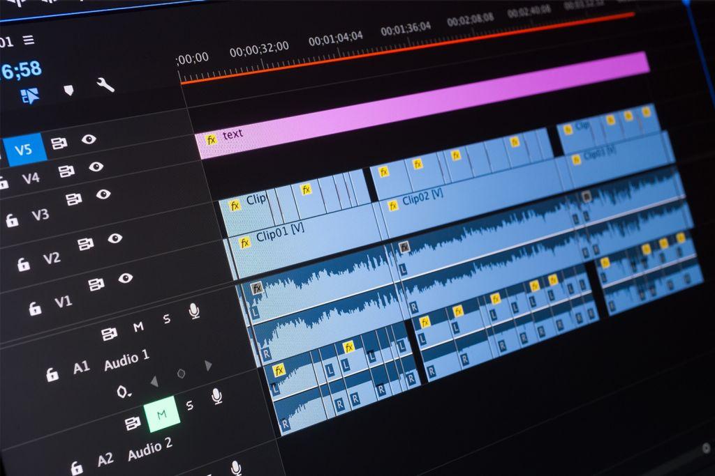 Édition vidéo sur un ordinateur