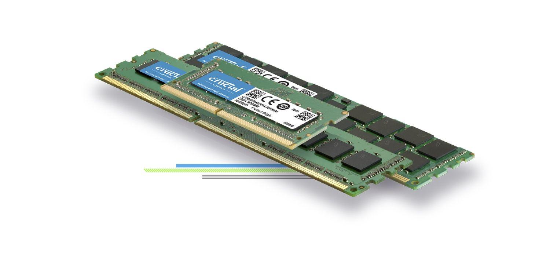 Un module de mémoire Crucial