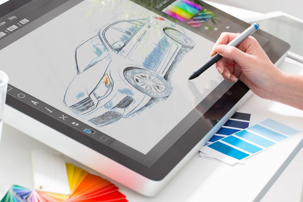 Le graphisme avec une tablette graphique