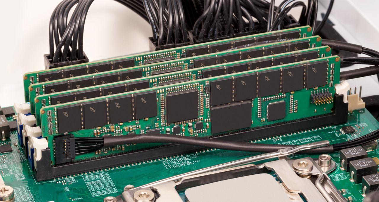 RAM pour serveurs Crucial.
