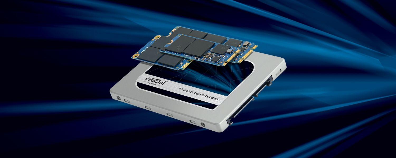 Les SSD Crucial existent en différents formats