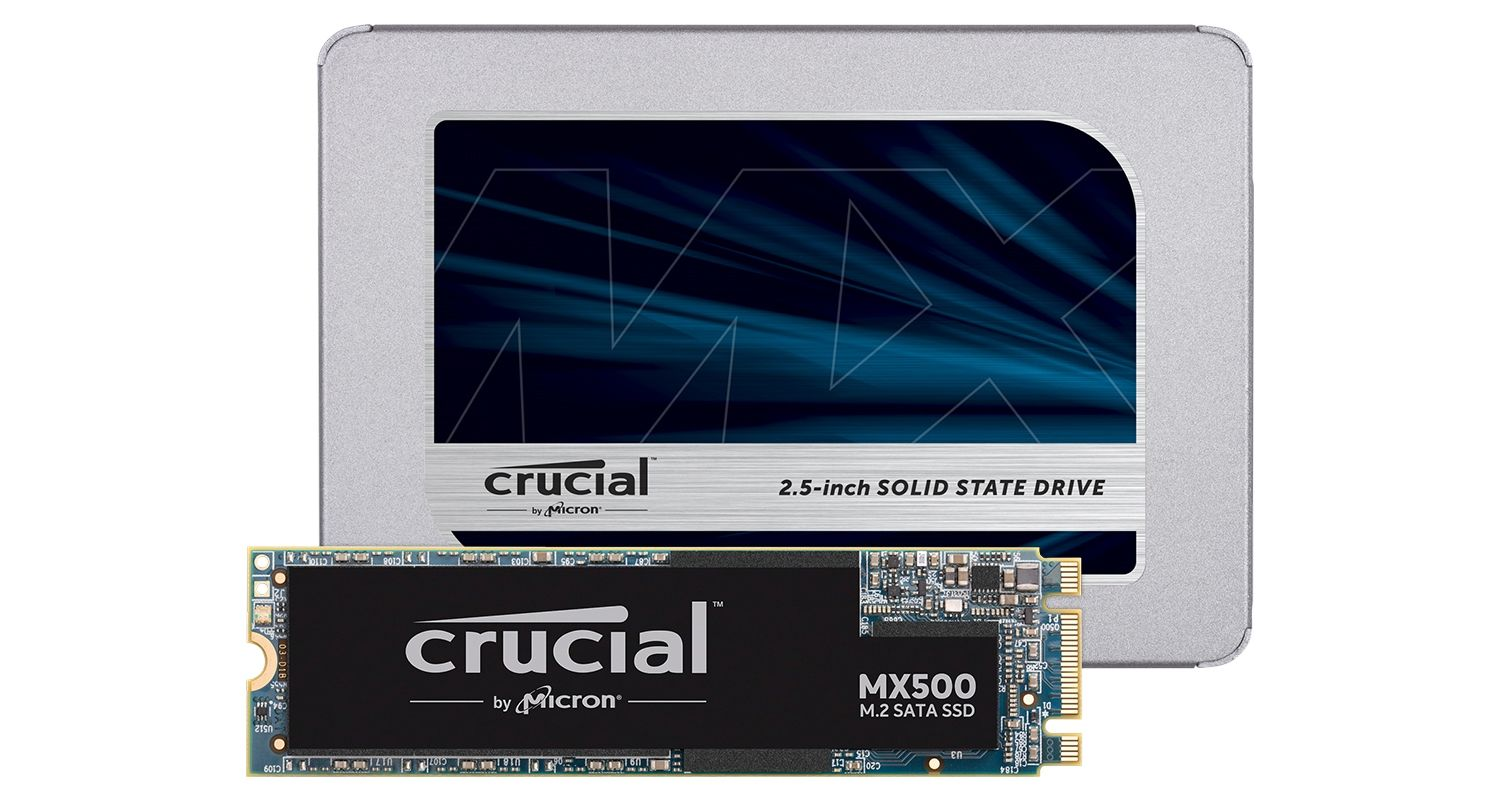 SSD Crucial.