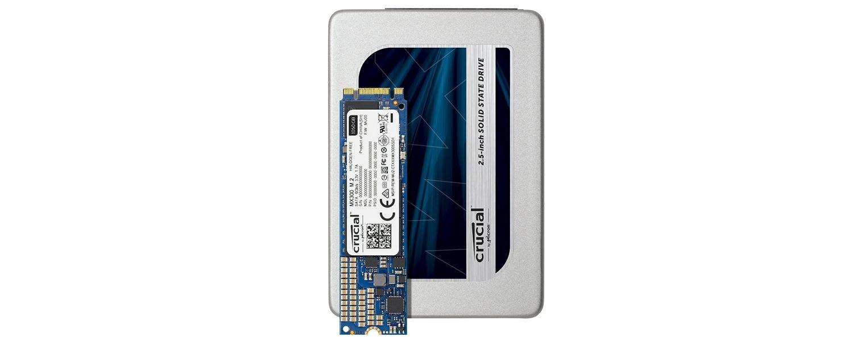 Famille de SSD Crucial MX300
