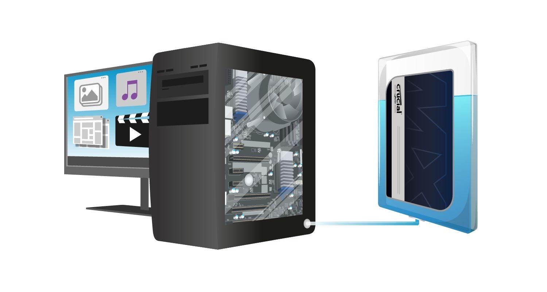 Capacité des SSD