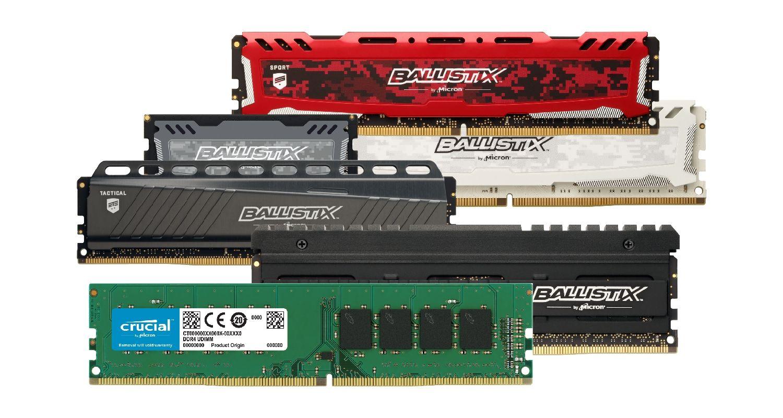 Mémoire (RAM) Crucial pour Gamers.