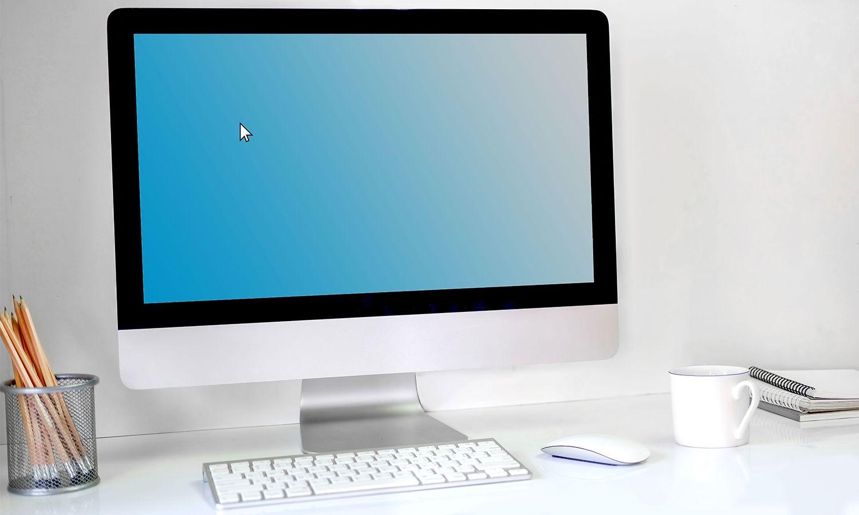 Ordinateur de bureau Mac
