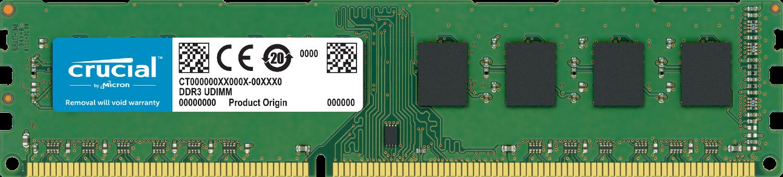 DIMM Crucial DDR3 4Go